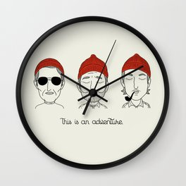This is an Adventure Wall Clock