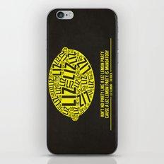 30 rock - liz lemon iPhone Skin