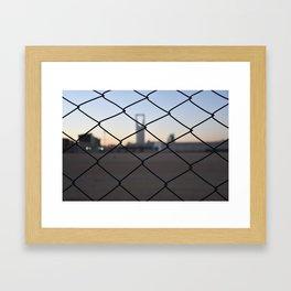 Kingdom Center in Saudi Arabia Framed Art Print