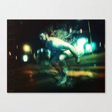 dead jump Canvas Print