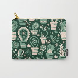 Paisley succulents Carry-All Pouch