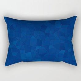 Geometric Shapes Fragments Pattern 2 db Rectangular Pillow