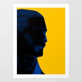 L'homme - electric Art Print
