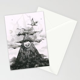 When We Peak Stationery Cards