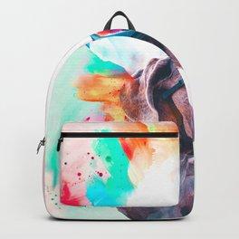 Great Dane Illustration Backpack