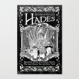 A Trip to Hades Canvas Print