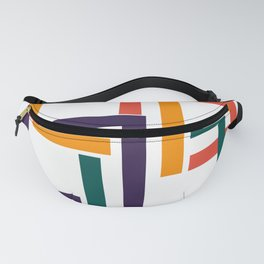 Modern geometric minimal Fanny Pack