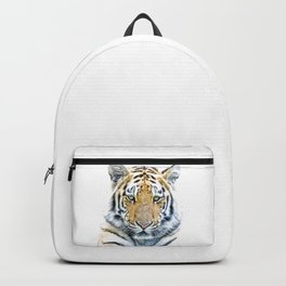 Tiger portrait Backpack