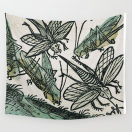 Locusts Wall Tapestry