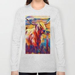 Highland Cow 4 Long Sleeve T-shirt