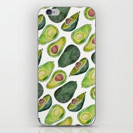 Avocado Slices iPhone Skin