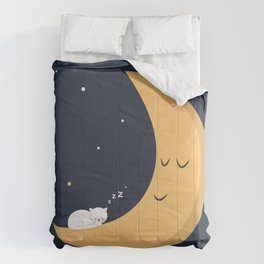 The Cat and the Moon Comforters
