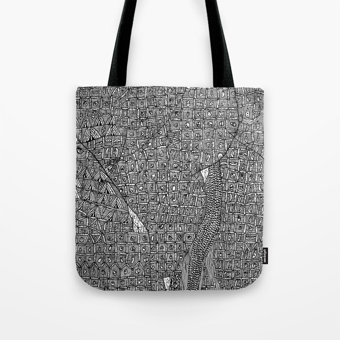 Hic Sunt Dracones (iii) Tote Bag