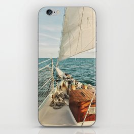 Open Ocean Sailing iPhone Skin