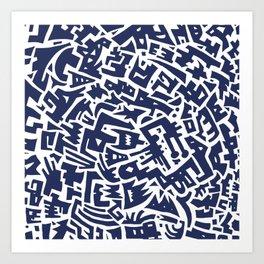 Perplexity Art Print