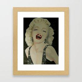 Razzlin'-Dazzlin' Marilyn Framed Art Print