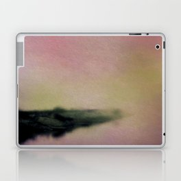 Misty Morning Lakeside Laptop & iPad Skin