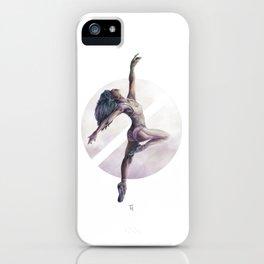 Aquarelle Ballerina 01 iPhone Case