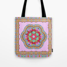 Mix&Match;  Pretty Pink Mandala Meditation pillow 03 Tote Bag