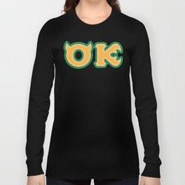 Monster University Fraternity : Oozma Kappa Long Sleeve T-shirt