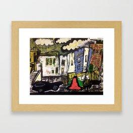 Drears Framed Art Print