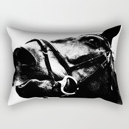 ALFRED THE HORSE Rectangular Pillow