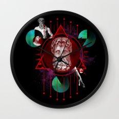 Geometric Gods Wall Clock