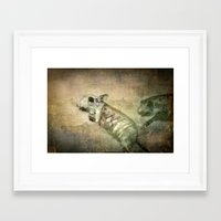 bond Framed Art Prints featuring Bond by Adelina Campean