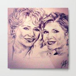 Debbie & Daughter Metal Print