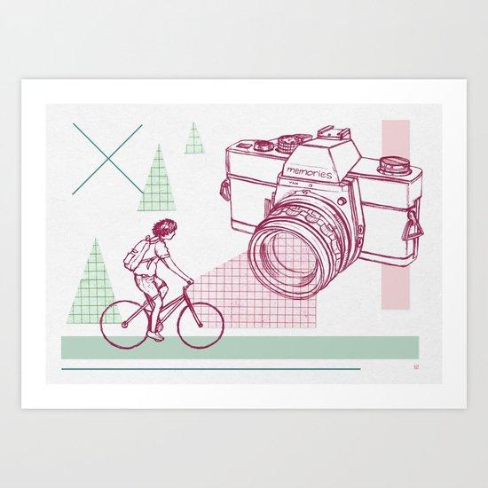Memory Lane Art Print