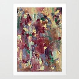 Go Through It Art Print