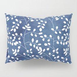 Inky Duvet Cover Leaf Pattern 9 Pillow Sham