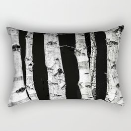 Birch Trees Rectangular Pillow