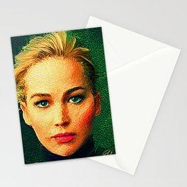 Jennifer Lawrence (Von Gogh) Stationery Cards