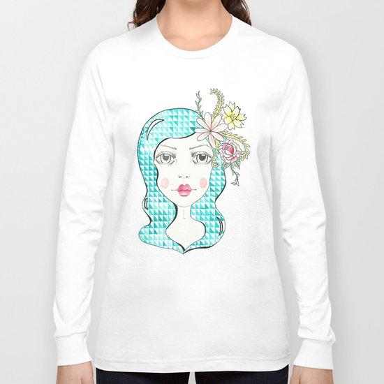 Triangle Girl Long Sleeve T-shirt