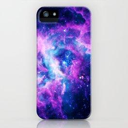 Dream Of Nebula Galaxy iPhone Case