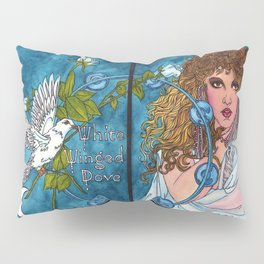White Winged Dove Pillow Sham