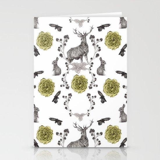 Flora & Fauna Stationery Cards