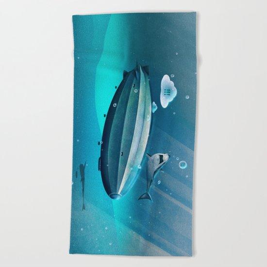 Weird Waters Beach Towel