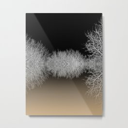 In the grip of Winter Metal Print