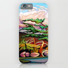 Juniper Islet by Amanda Martinson iPhone Case
