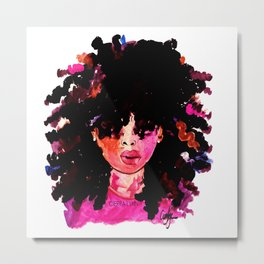 BABY HAIR AND AFROS Metal Print