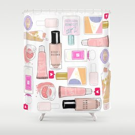 The Beauty Faves Shower Curtain