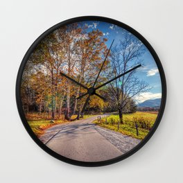 Cades Cove Wall Clock