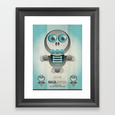 Skul Bros Framed Art Print