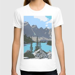 Moraine Lake- A Mountain Landscape Dream T-shirt