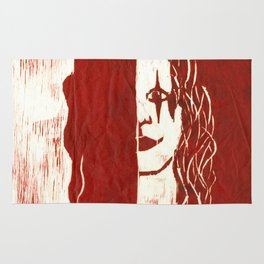 Brandon Lee Red Rug