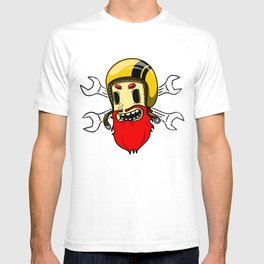 helmets and wrenches T-shirt