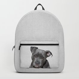 Pit bull - Colorful Backpack