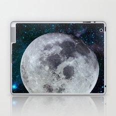 Moon and the stars Laptop & iPad Skin